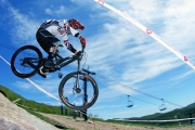 Course - vélo de montagne DH